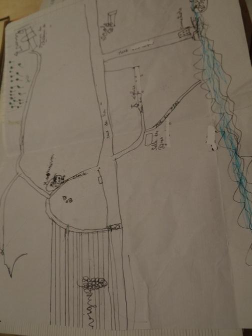 carte plan Margot