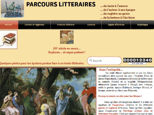 parcours littéraire site