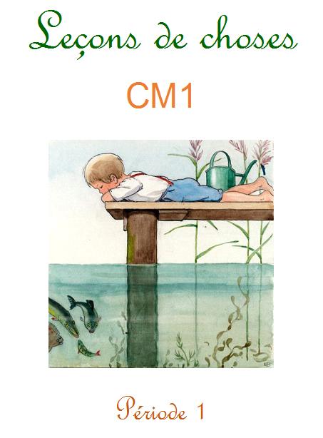 Leçon de choses CM1 page couverture